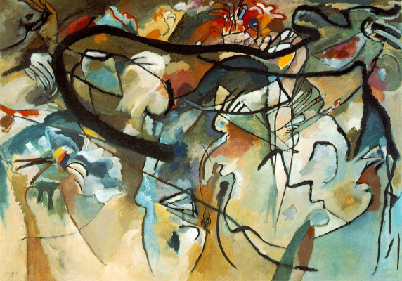 Wassily Kandinsky. Composition 5