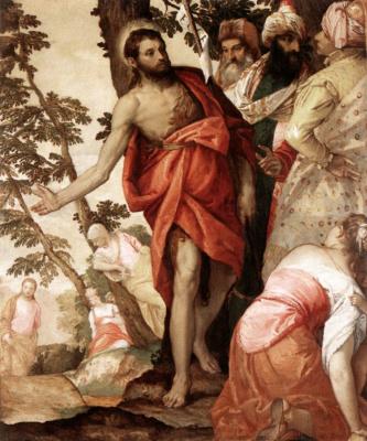 Paolo Veronese. Sermon of John the Baptist