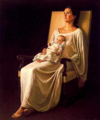 Клаудио Браво. Мать с ребенком