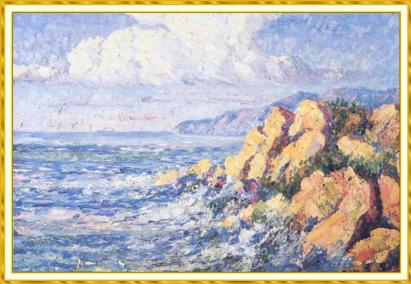 Селена  Аллан. Пляж в Калифорнии