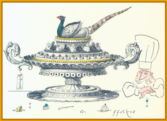 Майкл Фолкс. Рождественская открытка
