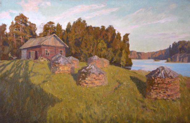 Ilya Andreevich Kozlov. Morning on Valaam