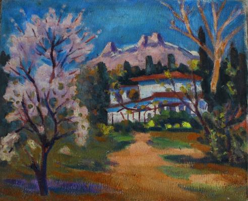 Vyacheslav Karelin. Koreiz in the spring