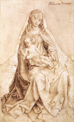 Rogier van der Weyden. The virgin