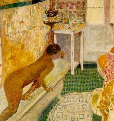 Пьер Боннар. Выход из ванны