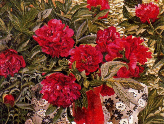 Stanley Spencer. Peonies