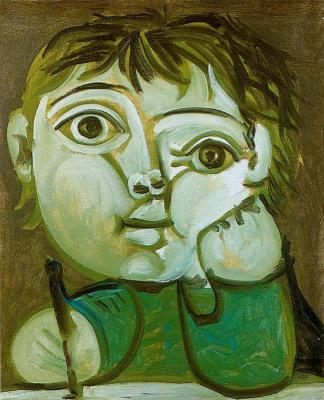 Пабло Пикассо. Пишущий Клод