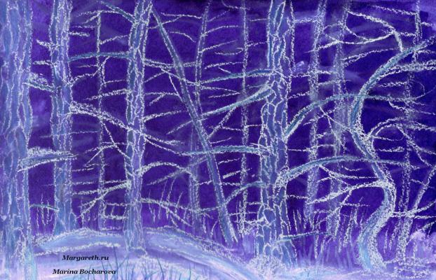 Marina Bocharova. White pines