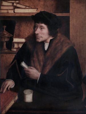 Quentin Masseys. Portrait of Peter Gillis
