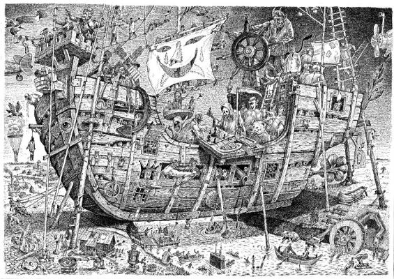 Igor Alekseevich Smirnov-Sardanovsky. Ship of Fools II