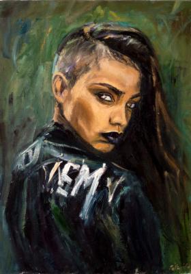 Valeria Petrova. Portrait of a girl