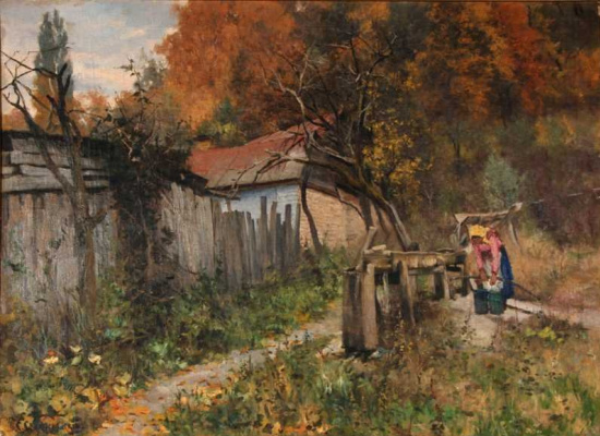 Sergey Ivanovich Svetoslavsky. The Outskirts Of Kiev
