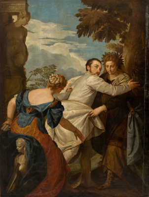 Paolo Veronese. The Choice Between Virtue and Vice