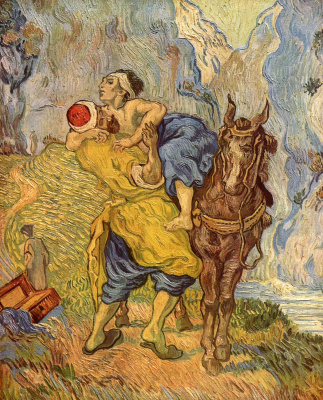 Vincent van Gogh. Good Samaritan
