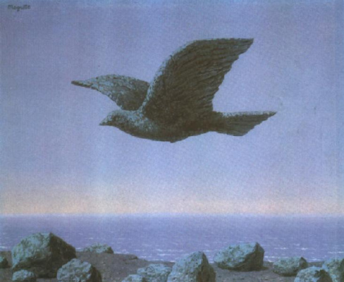 René Magritte. Idol