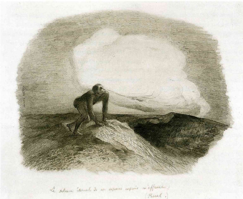 Odilon Redon. The eternal silence of these infinite spaces frightens me
