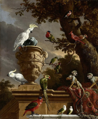 Melchior de Hondecuiter. Menagerie