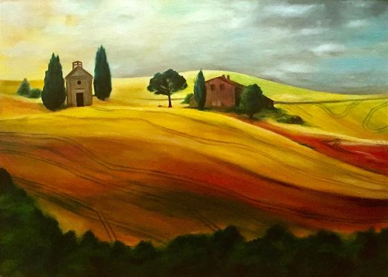 Regina Muller. Tuscany