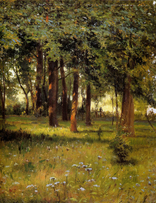 Grigory Grigorievich Myasoedov. Park