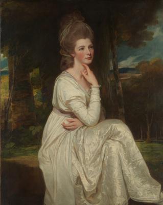 George Romney. Lady Elizabeth Stanley, Countess of Derby