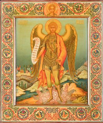 Icon Painting. Archangel Michael (Workshop A.Ya. Vashurova)