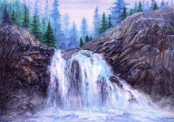 Ора Маринюк. Водопад