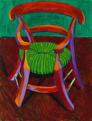 David Hockney. Gauguin's Chair