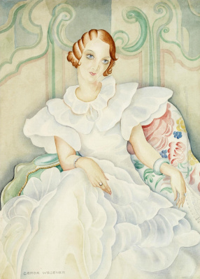 Gerda Wegener. Portrait Of Brigitte Bergman.