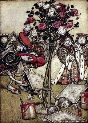 Артур Рэкхэм. В розовом саду