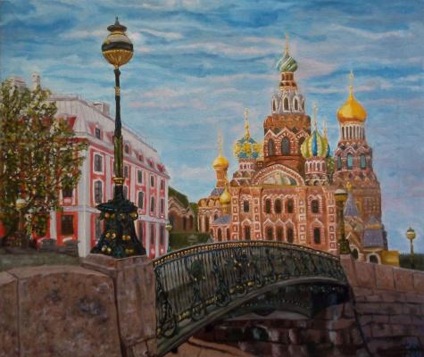 Nataly Yakubovskaya. St. Petersburg The Church of the Savior on Blood