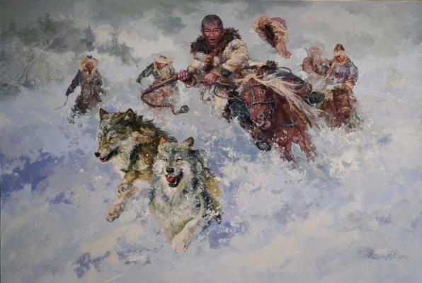 Ирик Рашидович Мусин. Охота загоном. 2011