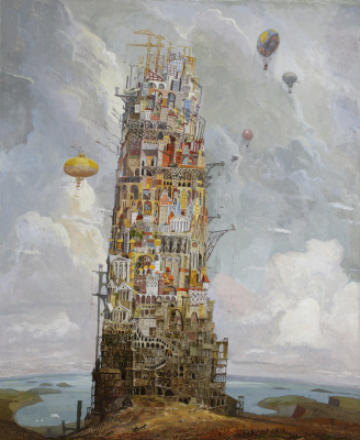 "Stepan Grudinin. ""Tower Of Babel"""