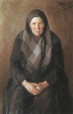 Иван Семенович Куликов. Портрет матери. 1896