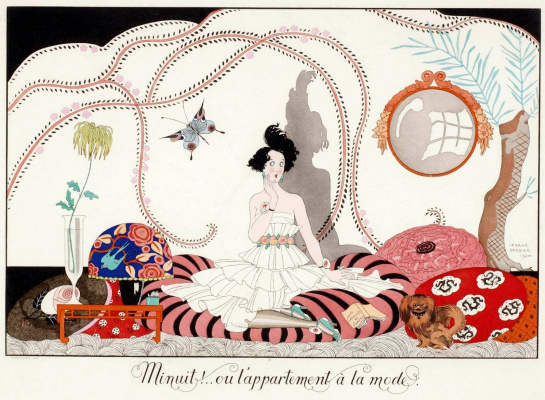 Georges Barbier. Happy day