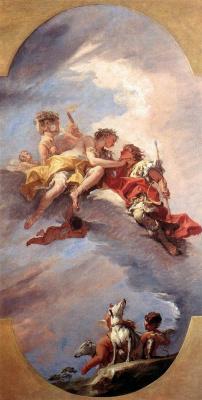 Себастьяно Риччи. Объятия