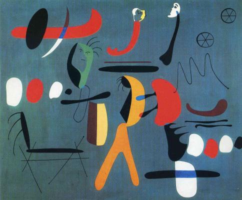 Joan Miro. Composition