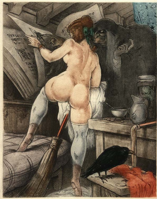 Жан Моризо. Ведьмы
