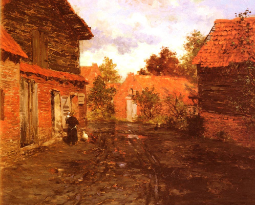 Frits Thaulow. After the rain