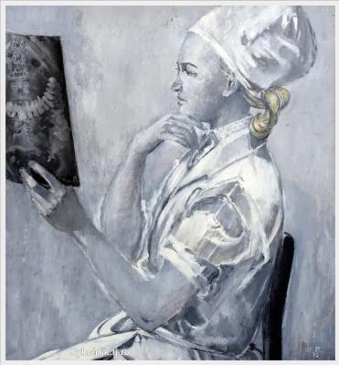 Юрий Иванович Пименов. Портрет хирурга Жанны Юхвидовой