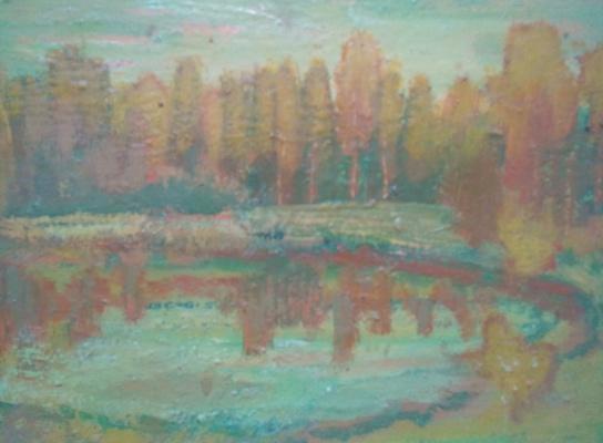 Вячеслав Коренев. Forest reservoir
