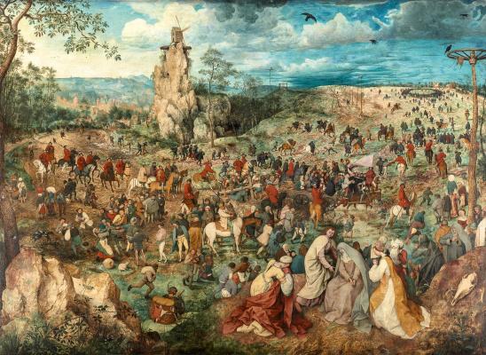 Pieter Bruegel The Elder. Christ Carrying the Cross