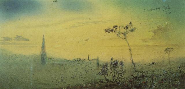 Salvador Dali. Landscape