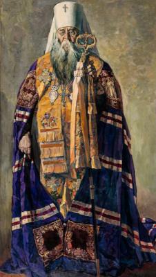 Pavel Dmitrievich Korin Russia 1892 - 1967. Metropolitan Sergius. State Tretyakov Gallery, Moscow