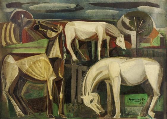Хуан Геновес (Хеновес). Horses