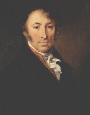Vasily Andreevich Tropinin. Portrait Of Nikolai Mikhailovich Karamzin