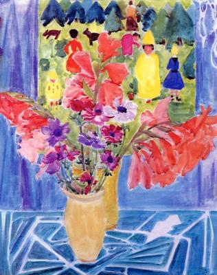 Erich Heckel. Bouquet