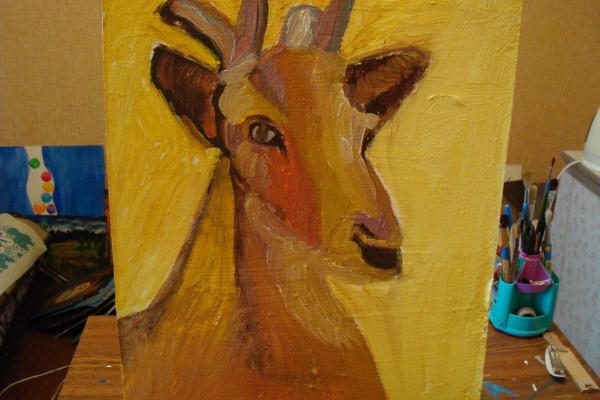 Гульнара Агзамова. Deer