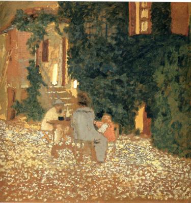 Jean Edouard Vuillard. Plot 3