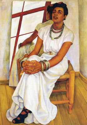 Diego Maria Rivera. Portrait Of Lupe Marin