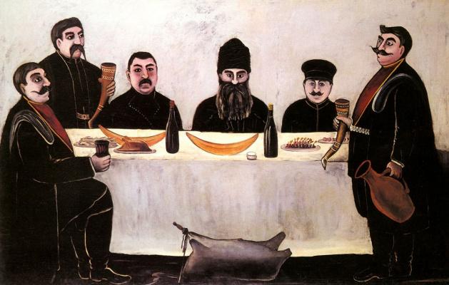 Нико Пиросмани (Пиросманашвили). Друзья Бегоса